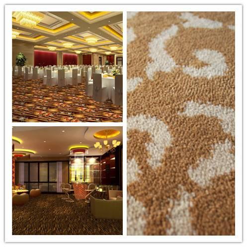 Broadloom Axminster carpet