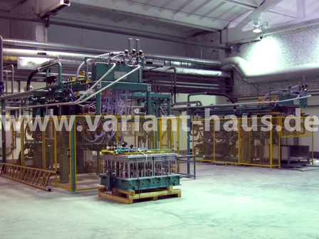 Mobile+ stationary EPS factory, BASF raw material NEOPOR