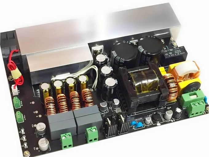 TPA3255 AMP Module Integrated with High Efficiency SMPS