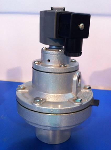 Rubber diaphragm electrically operated anticorrosive solenoid valve
