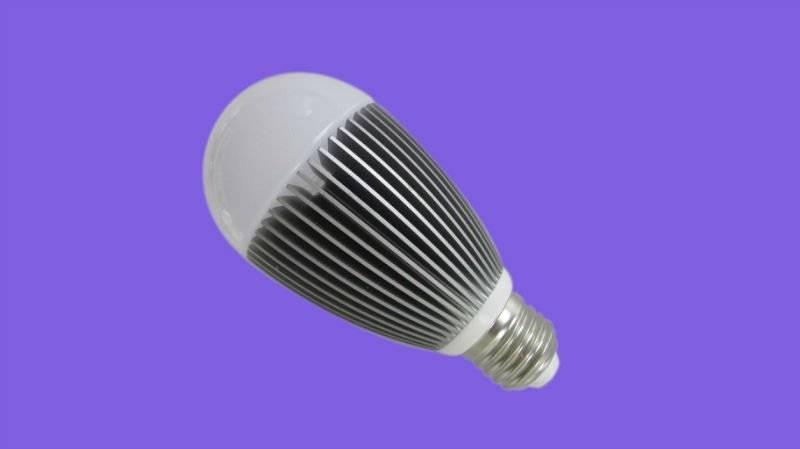 7w led bulb light e17/b22/e26