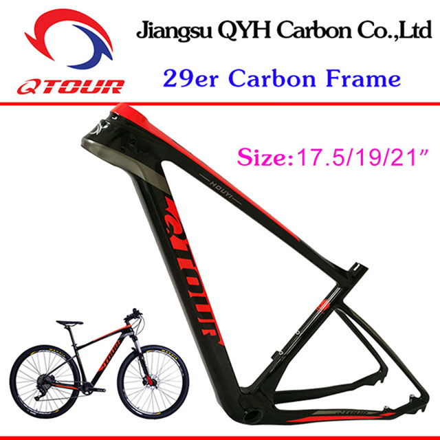 "carbon BIKE frame T700 fiber bicycle frame Japan 29"" T800 bicycle mountain bike frames"