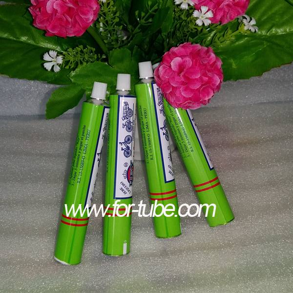 aluminum round tube with cap