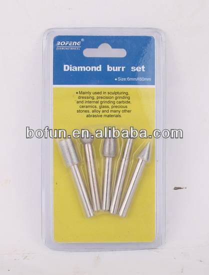 Diamond Burr Set