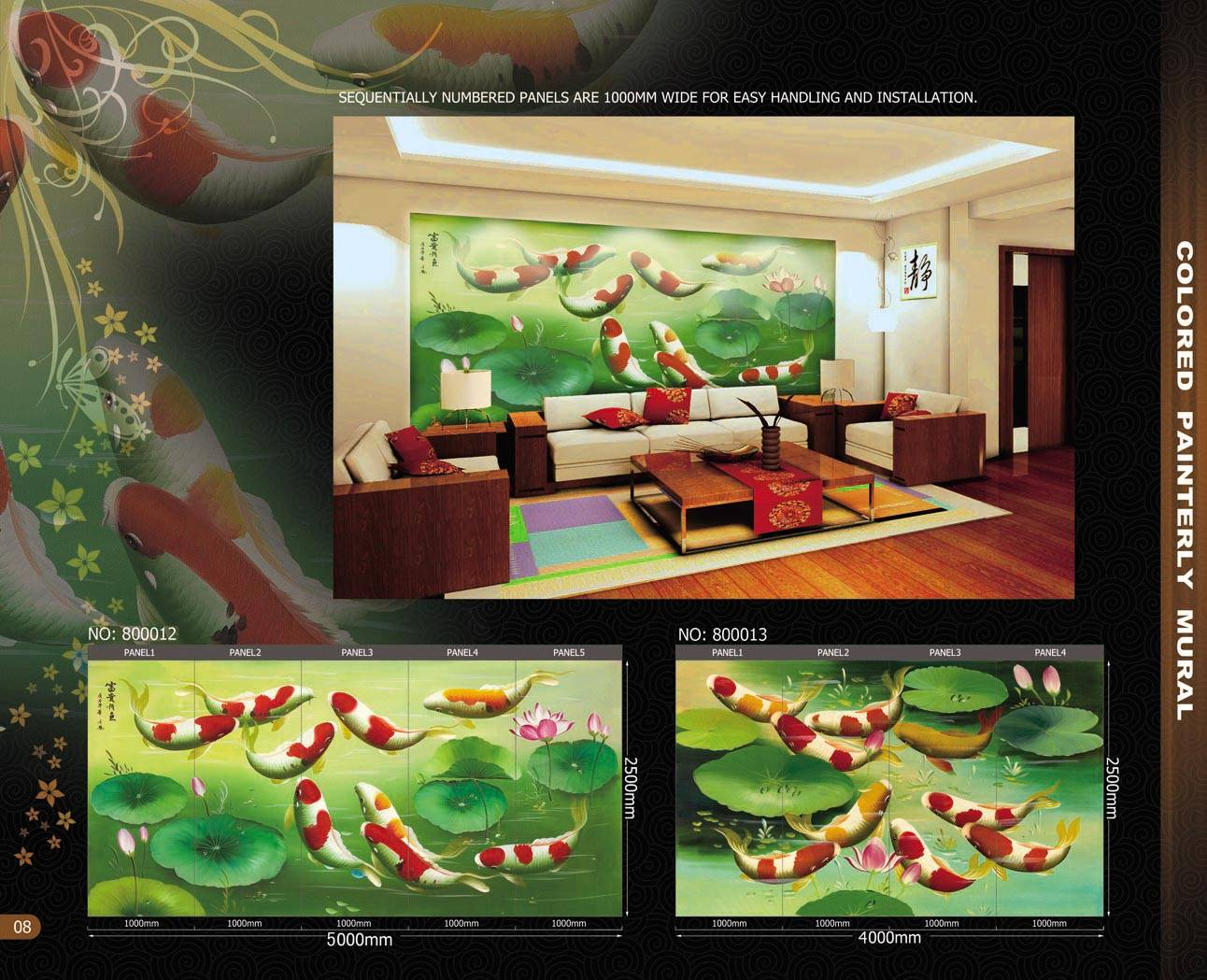 wallcoverings wall murals#800012-13