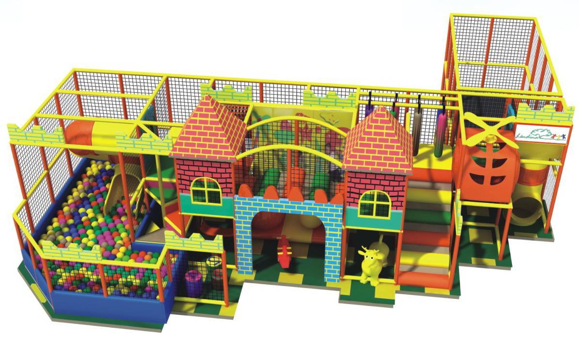 CE spacious indoor modular play
