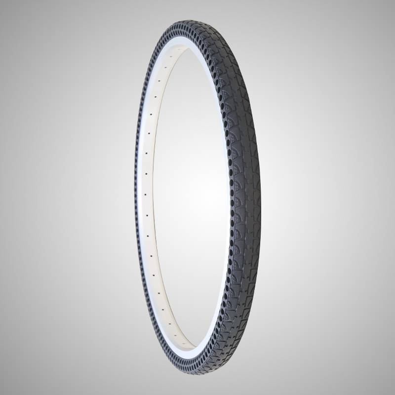 700C23 no air tracking bike tire