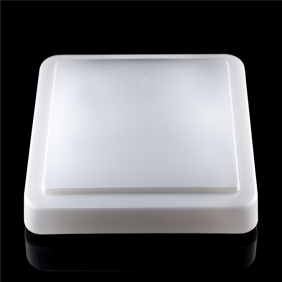 Customized pc/acrylic vacuum forming plastic outdoor light cover