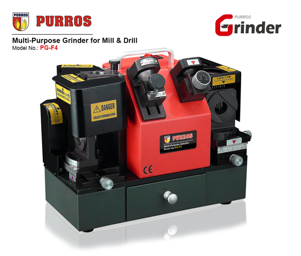 PURROS PG-F4 Multi-Purpose Grinder for Mill & Drill
