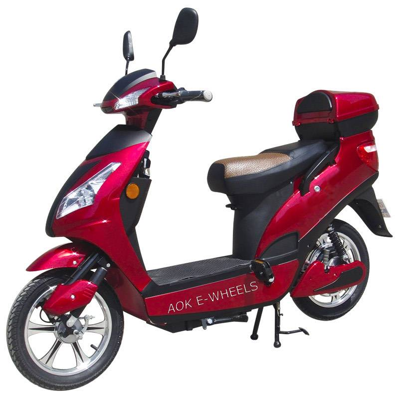 200W-500W Motor Electric Scooter with Pedal