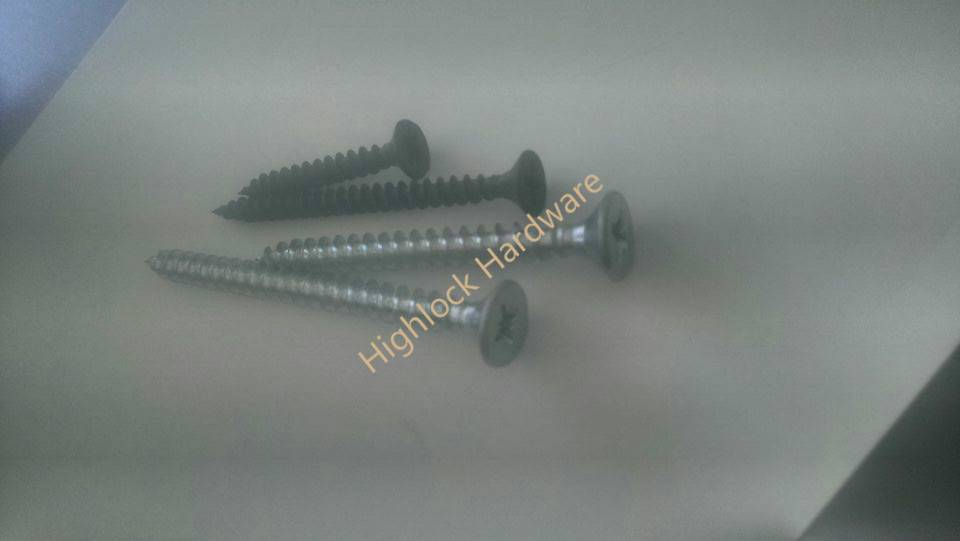 tapping screw chipping screw drywall screw