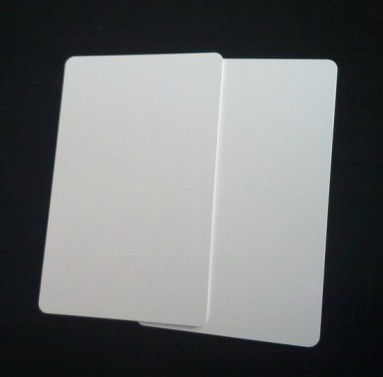 Custom M1Card RFID Electronic Tag Access Card IC Plus Film Printing White Card Aikeyi Technology