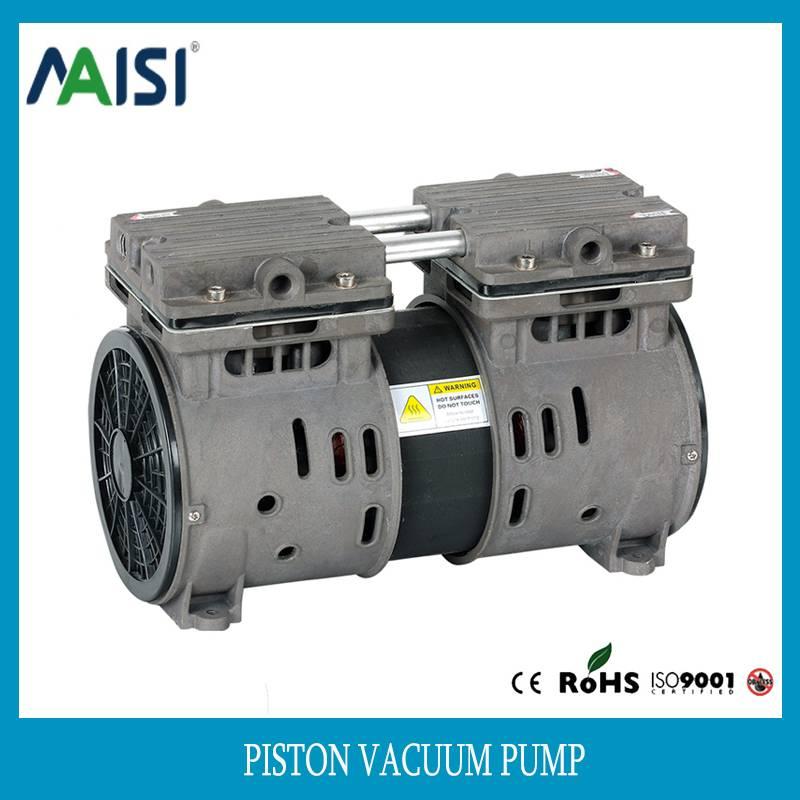 220V ac silent piston vacuum pump air pump 110v