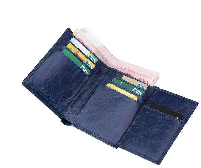 High Quality Leather Wallet for Men Business