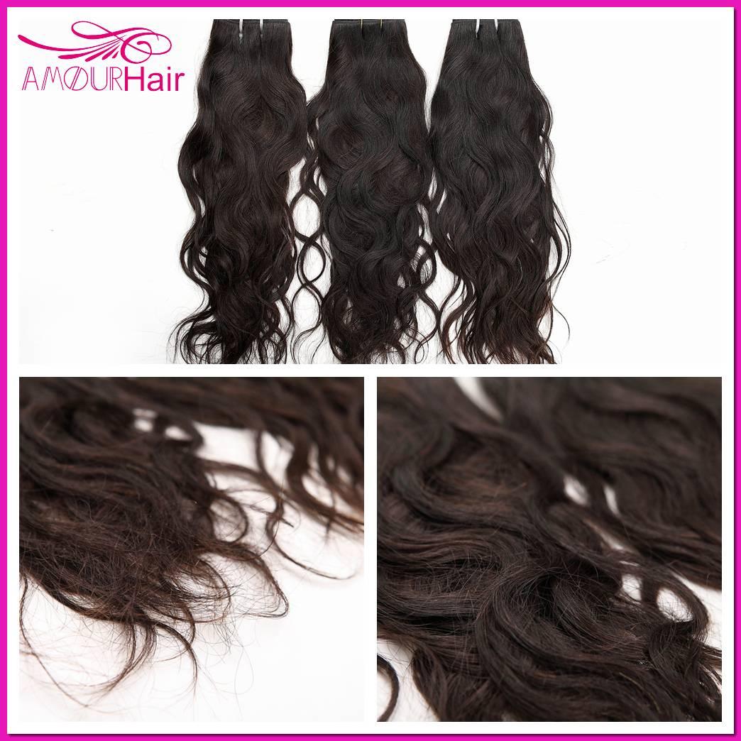 Brazilian Virgin Hair Weaving, Natural Wave, 8 inch-34 inch,100% human virgin Hair