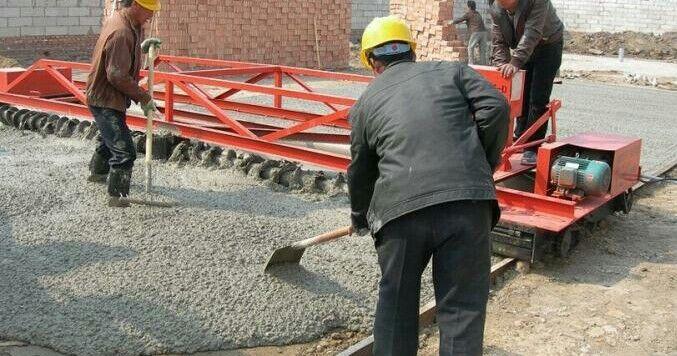 Road pavement roller paving machine