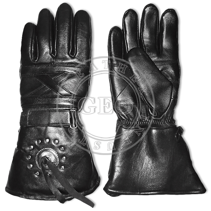 CP Cheap Price Motorcycle Racing Team Winter Leather Gloves