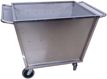 2017 new stainless steel launtry carts,hotels collection vehicles carts,stainless steel hotel servic