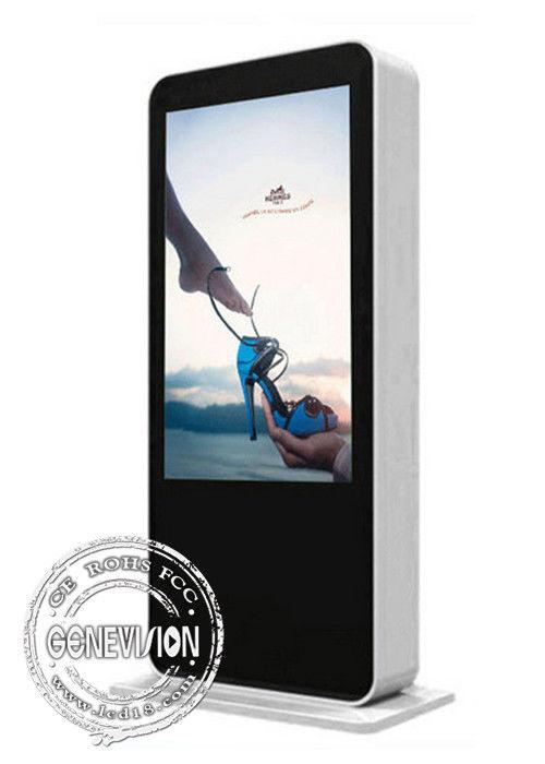 Floorstanding 3G Wifi Led Digital Signage Outdoor Electronic