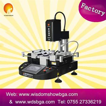 New semi-auto BGA rework station WDS-550 playstation motherboard soldering and desoldering station