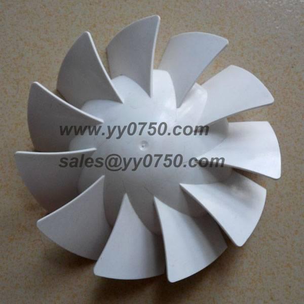 Industrial use fan blade plastics manufacturing