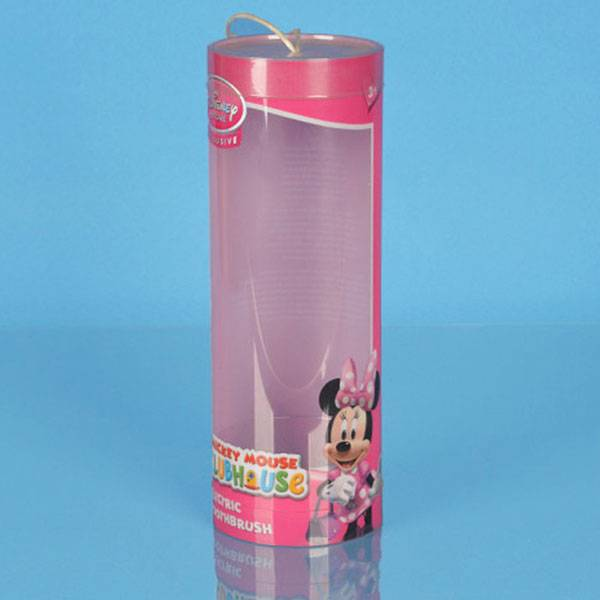 clear plastic tube for Disney toy