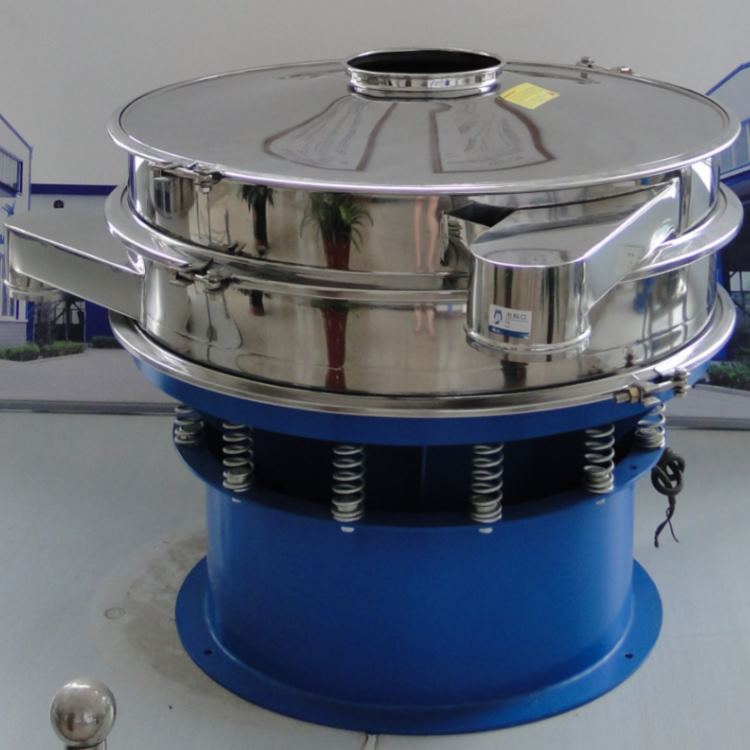 Round Vibrating Screen to sieve bulk materials such as flour, salt, sugar