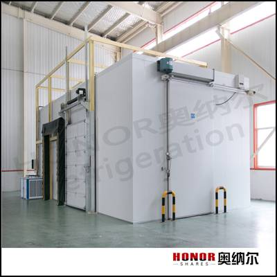 cold storage room for fish fruit vegetable