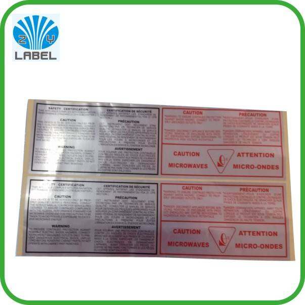 Promotional printing electronic product sticker, removable adhesive paper price label