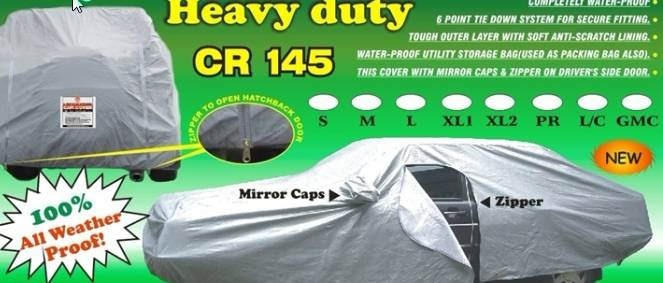 Car cover thick material