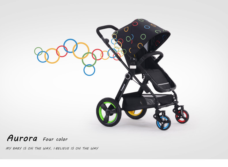 2016 Aluminum Alloy Cheap Baby Walker Hot Selling High Quality Foldable Baby Stroller