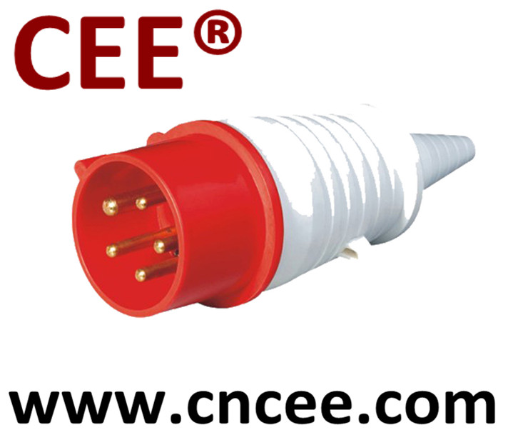 CEE Industrial Plug cone shaped