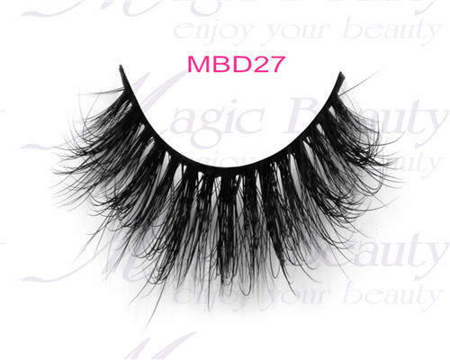 3D Mink Fur Lashes MBD27 Magic Beauty Lashes Cruelty-free Real Siberian Fur Lashes