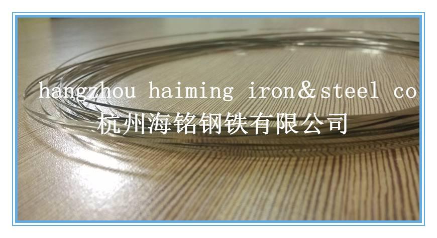 full hard 304 stainless steel strip  0.1*1.0mm for bearing