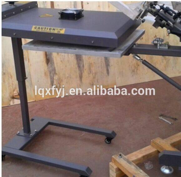 screen printing machine flash dryer