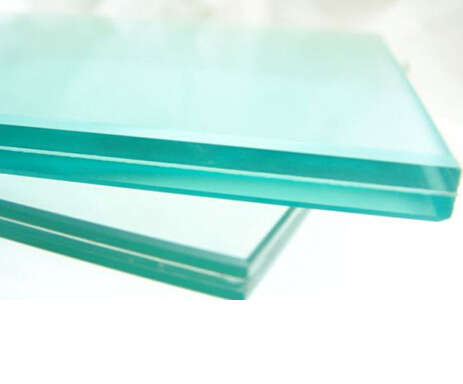 6+0.38+6mm Clear PVB Laminated Safety Glass for Window