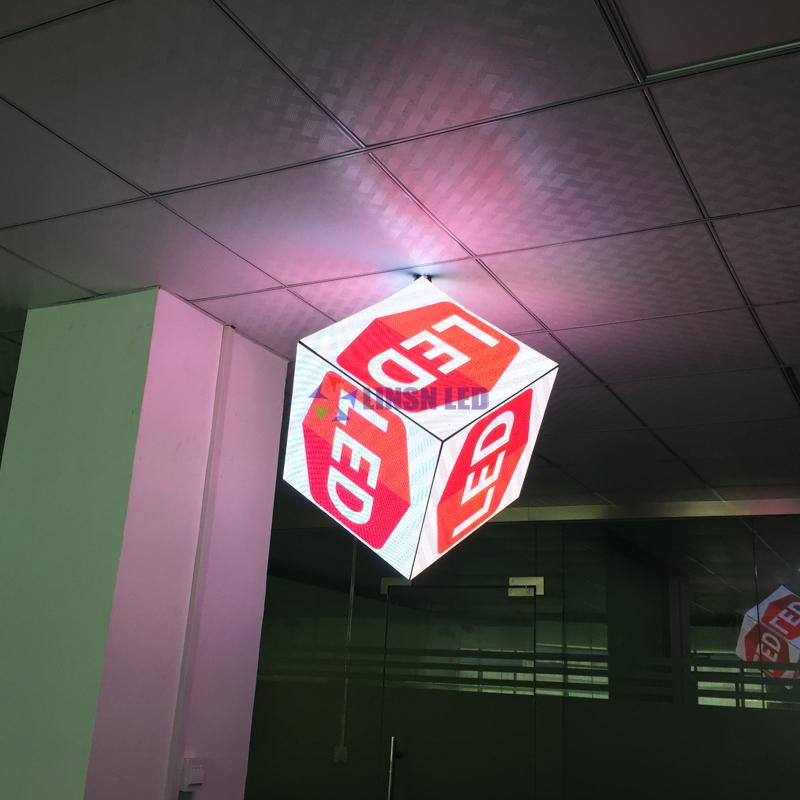 P2.5mm Cube LED Display Screen