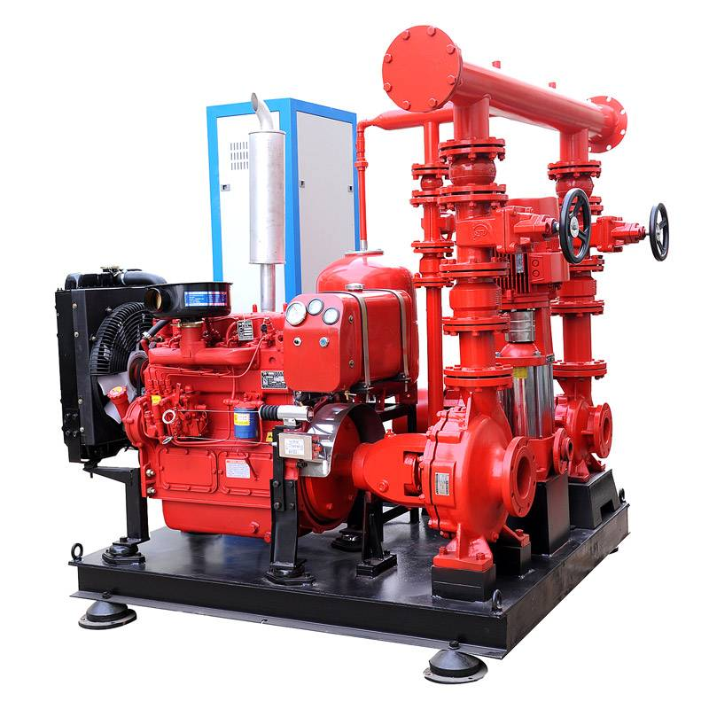 Fire Fighting Pump System for Tender or Project