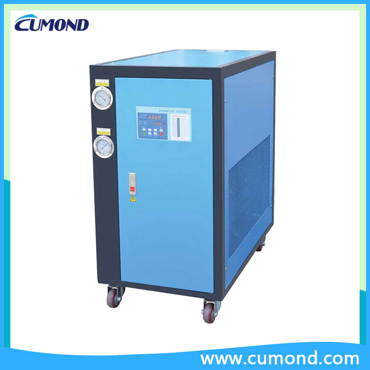 water cooled industrial chillers
