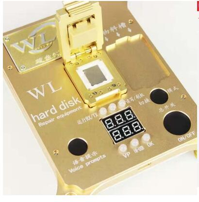 WL PCIE 6S 7 7P NAND Flash Programmer iphone 7 7P NAND Test Fixture