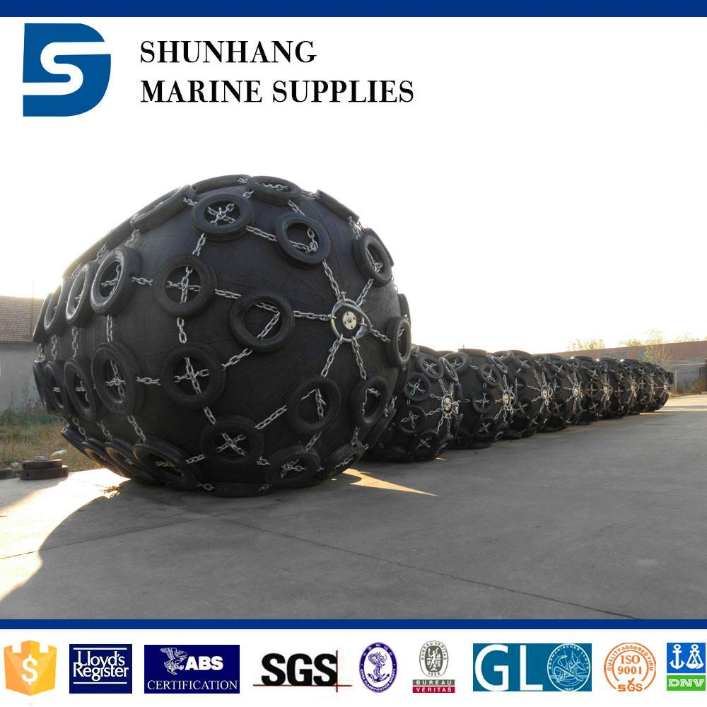 heavy lifting pneumatic rubber fender