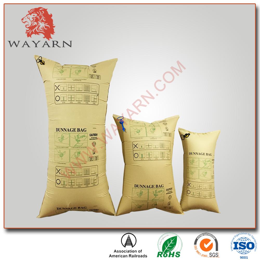 Recycle Brown Kraft Paper Inflator Dunnage Air Bag