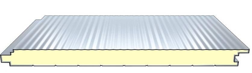 Polyurethane sandwich panel (Wall panels)