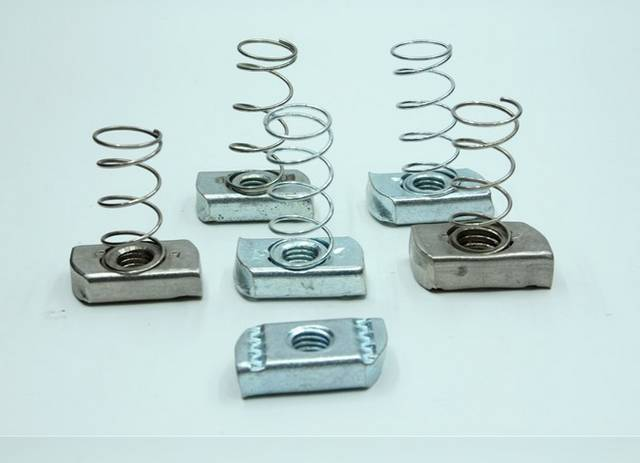 Metric Standard Square Channel Spring Nuts M5-M20