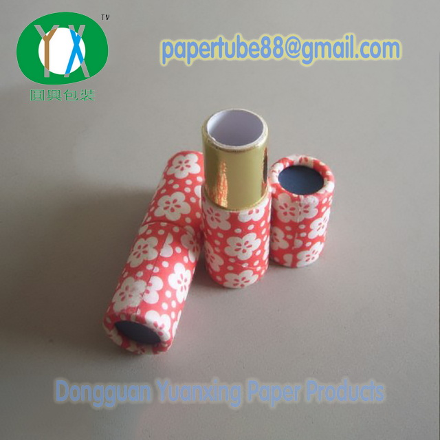 Cardboard Empty Paper Lipstick Tube Packaging with Colorful Printing
