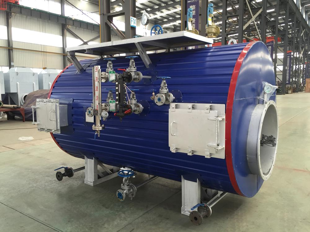 Power Plant Exhaust Gas Steam Boiler Flue Gas Heat Recovery for Generator Set