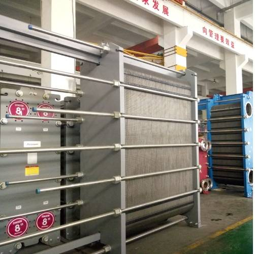 Accessen plate heat exchanger