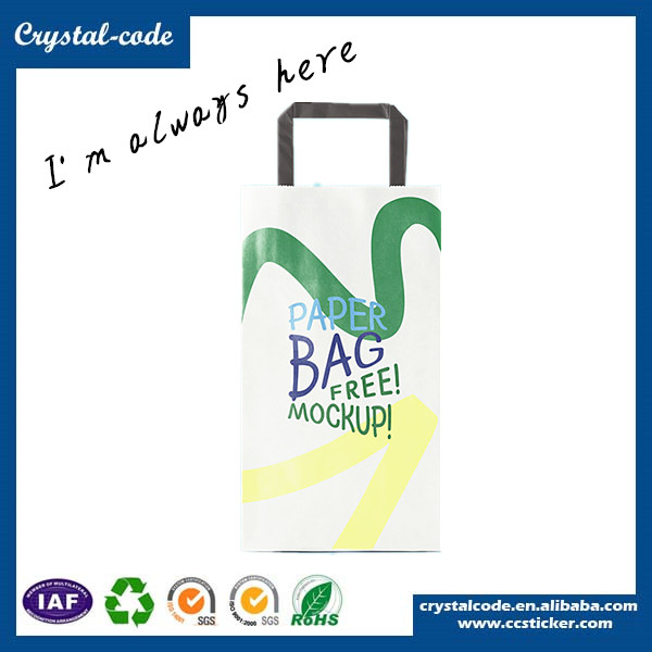 lovely luster and extraordiairy raw materials of paper bag ,washable paper bag