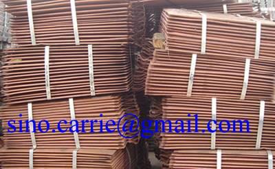 electrolytic cathode copper