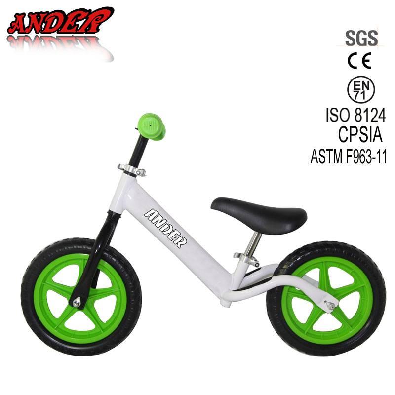 Best selling two wheels colors Rim Kids Walking Bike / Baby Walking Bike WIth EVA Tire
